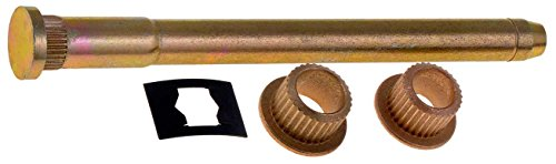 APDTY 49520 Door Hinge Pin & Bushing Kit, Includes 1 Pin, 2 Bushings, 1 Clip (Steel Pins, Copper Bushing) Front & Rear Doors Fits 1994-2005 S10, 1995-2005 Blazer, 94-05 Sonoma 96-01 Oldsmobile ()