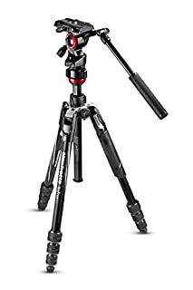 Manfrotto Travel Befree Live Aluminium Tripod Twist, Video Head, Black, Compact (MVKBFRT-LIVEUS) (B077J11CCW) | Amazon price tracker / tracking, Amazon price history charts, Amazon price watches, Amazon price drop alerts