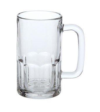 Anchor Hocking Wagon Glass Beer Mugs, 20 oz (set of 6) - Glass Beer Mug Set
