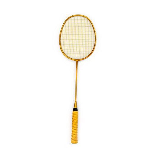 Ultra-light Badminton Racket All Carbon Fiber Single Shot Racquet 4U Offensive Defensive Fit For Men and Women Beginners – DiZiSports Store