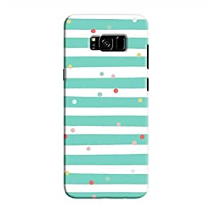 Cover It Up - Sprinkles Cyan Galaxy S8Hard Case