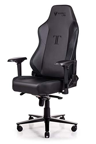 Secretlab Titan Prime PU Leather Black (w/Suede) Gaming Chair