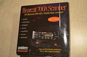 UNIDEN BEARCAT BC-700A 50 Channel 800Mhz Mobile/Base Scanner