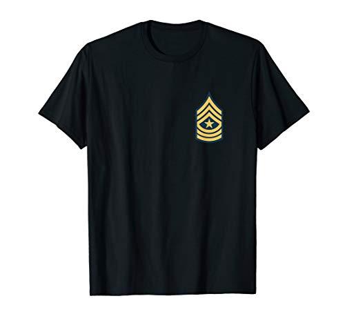 US Army Sergeant Major OR9-E9 Rank insignia T-shirt (Chevrons Army Us)