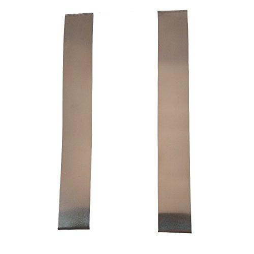 XCLUDER 162940 Garage Door Rodent Shield, Stainless Steel, 1 Door Kit (Pack of 2)