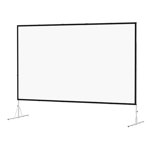 Fast Fold Deluxe Portable Projection Screen Viewing Area: 62