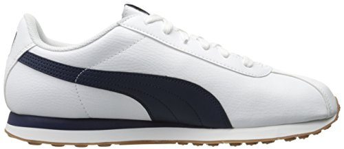 Puma Mens Turin Fashion Sneaker Puma Bianco / Peacoat