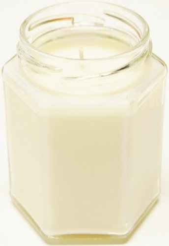 3 Pack 12 oz Squat Hex Soy Candle - Pink Magnolia Blossom 12 Oz Hex Jar
