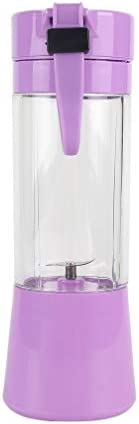 Zoo-yil Lqp-jibaj Copa Exprimidor USB, Frutas máquina de Mezcla, Portátil Personal Tamaño de Eletric Recargable batidora, licuadora, 380ml Botella de Agua con USB