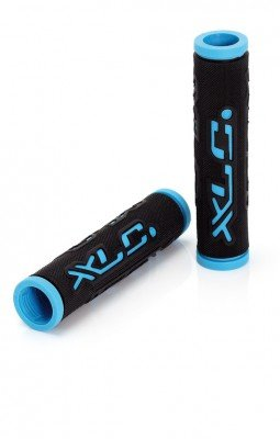 XLC Griffe Dual Colour GR-G07, schwarz/blau, 125 mm, 2501583500