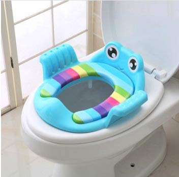 458f6e4a5c Amazon.com : Flamingo Bount Folding Potty seat Baby Travel Potty Seat 2 in1  Portable Toilet Seat Kids Comfortable Assistant Multifunctional  Environmentally ...