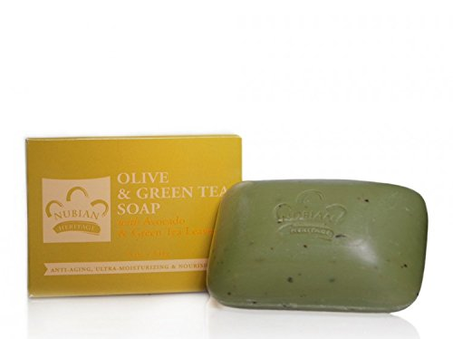 Nubian Heritage Bar Soap Olive Butter - 5 oz - Pack of 24 (Nubian Butter Olive)
