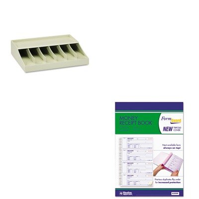 KITMMF210470089RED8L808R - Value Kit - Rediform Money Receipt Book (RED8L808R) and MMF Bill Strap Rack (MMF210470089) by Rediform