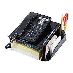 Office Depot 30% Recycled Phone Stand, Black, 10408
