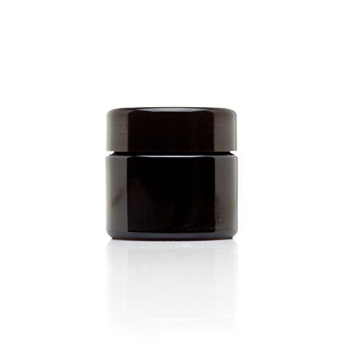 infinity-jars-50-ml-17-fl-oz-travel-size-black-ultraviolet-glass-screwtop-jar