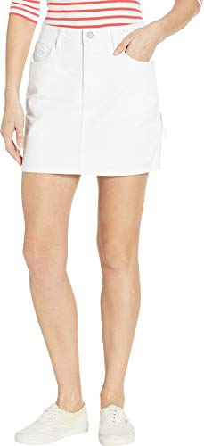 (Volcom Women's Fix It Mini Skirt White 2XL (US 13-14) )