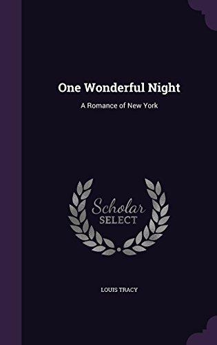 One Wonderful Night: A Romance of New York