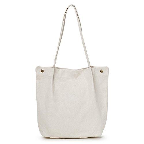 Handbags Ladies Capacity College Package Large Canvas Art Bag White Creative Shoulder Wild Casual Lady Wind Bag 5STqwvE