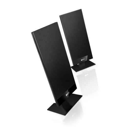 KEF T101 Satellite Speaker - Black (Pair) by KEF