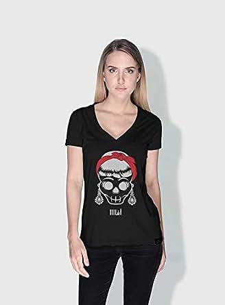 Creo Oooo 3Araby T-Shirts For Women - M, Black