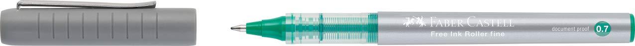 Free Ink Roller 0,7 Pack de 12. Verde Faber-Castell 348163