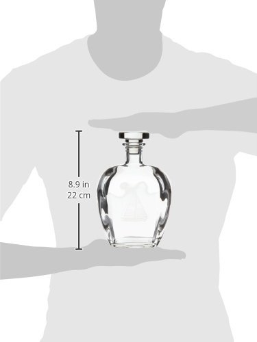 Rolf Glass Etched Sailboat Decanter and On The Rocks Glass Set Clear 222905