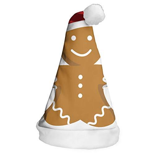 NO4LRM Ginger Man Christmas Santa Claus Hat with