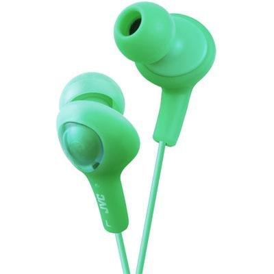 - Jvc America Gumy Plus Headphone Green (hafx5g) -