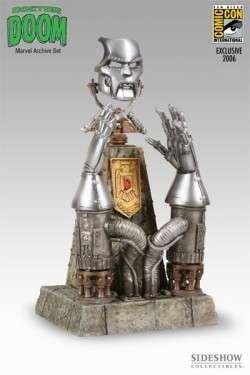 Doctor Doom: Mask & Gauntlet Bust San Diego Comic-Con Exclusive
