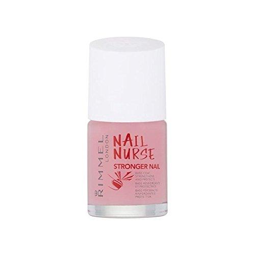 Rimmel Nail Nurse Nail Care Stronger (Pack of 6) - リンメルネイルナースネイルケア強いです x6 [並行輸入品] B07255JFXK