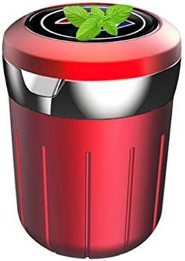 プロの車の灰皿、ビュイックとの互換性、ふた付きSo貯蔵タンク多機能旅行居間 (Color : 赤)