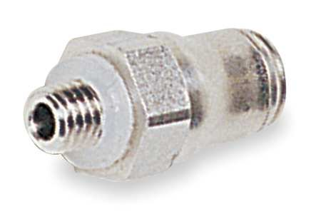 1/8'' x 5/32'' Tube x Male BSPP SS Male Connector PK 2 by Legris