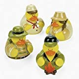 12 Camping Rubber Duckies