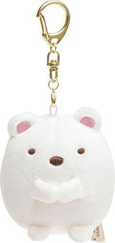 (San-X Sumikko Gurahi Mini Plush with Key chain doll Polar Bear)