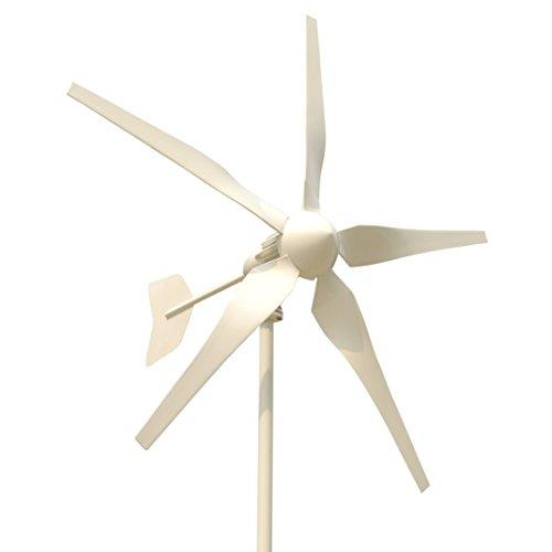 Tumo-Int 1000W 5Blades Wind Turbine Generator Kits with MPPT Controller (1000W, 24 Volt)