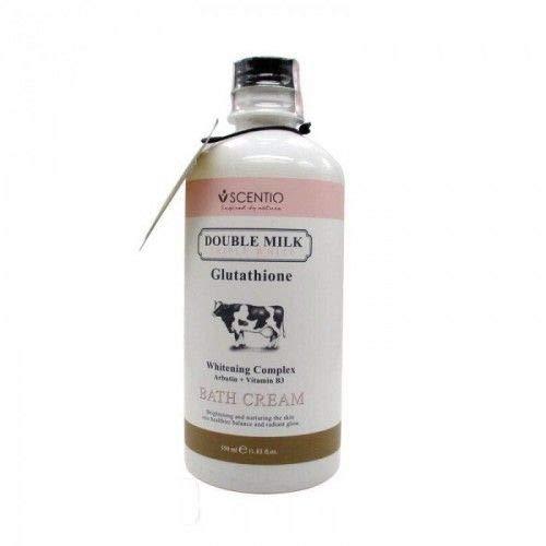 Scentio Double Milk Triple White Bath Cream 350ml. by Chom