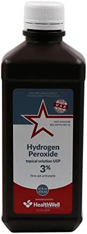 Antiseptics & Wound Care: Healthstar Hydrogen Peroxide