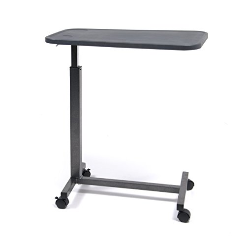 Lumex Over Bed Table with Non Tilt-Composite Top-Silver Vein Finish, 23 Pound (Top Table Composite Overbed)
