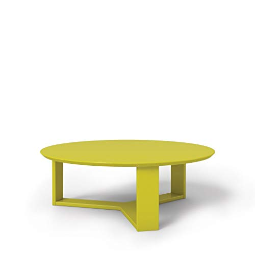 cute yellow coffee table