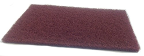 - Sungold Abrasives 7447-1 Sunbrite Maroon Premium Plus Handpads (20/Box), 6