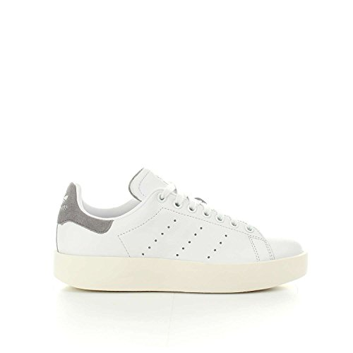 adidas Stan Smith Bold W, Zapatillas de Gimnasia Para Mujer Blanco (Ftwr White/ftwr White/grey Three F17)