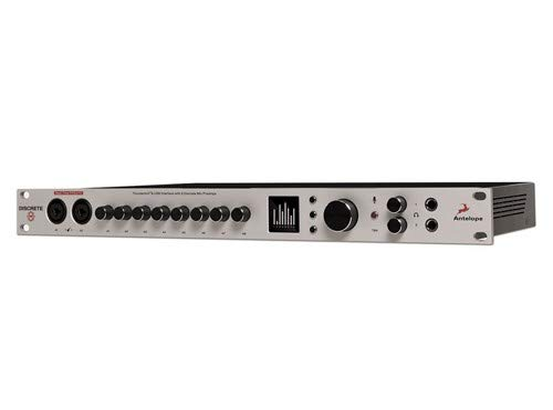 Antelope Audio Discrete 8 Microphone Preamp Thunderbolt/USB Interface - Premium FX Pack ()