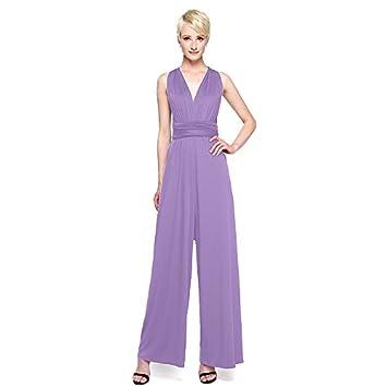0c86b1cbb1 KeKaFu Sheath Column V-neck Ankle Length Jersey Bridesmaid Dress with Pleats  by LAN