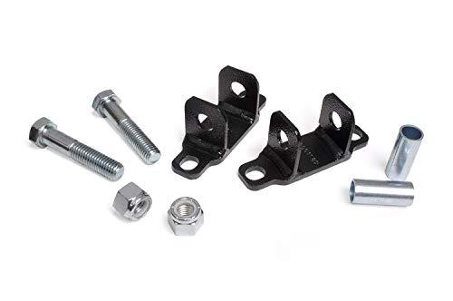 Rough Country 1089 - Rear Shock Upper Bar Pin Eliminator Kit (fits) 2007-2018 Jeep Wrangler JK 1997-2006 Wrangler TJ