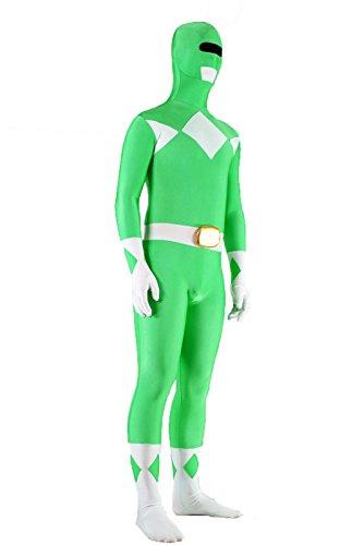 KILLYCOS Unisex Super Rangers Spandex Zentai Bodysuit Cosplay