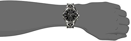 Seiko Men's SSC139 Excelsior Gunmetal and Silver-Tone Stainless Steel Solar Watch