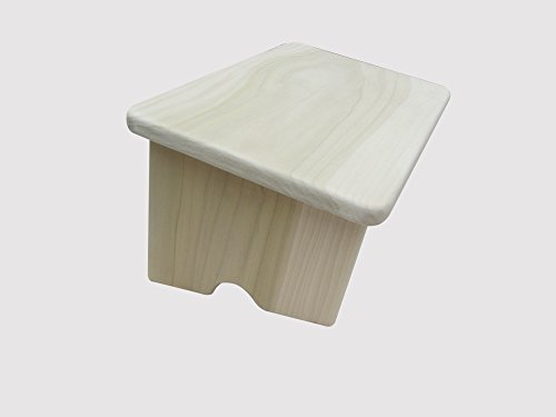 "Nursing Foot Stool 6"" Tall Poplar Wood (Made in the USA) ..."