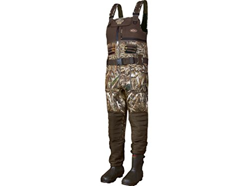 Drake LST Eqwader 2.0 5mm 1600 Gram Insulated Chest Waders Neoprene Realtree Max-5 Camo Men's 13