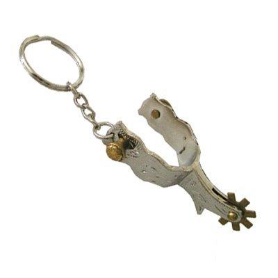Intrepid International Western Fancy Spur Key Chain Fancy Engraved spur.