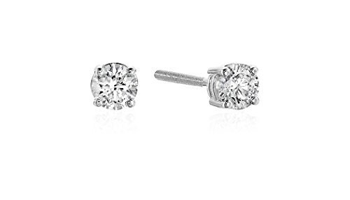 Diamond Screw Earrings Color Clarity